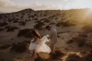 Wolvesworkshop, desert, elopement