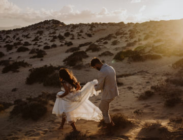 Wolvesworkshop, desert, elopement